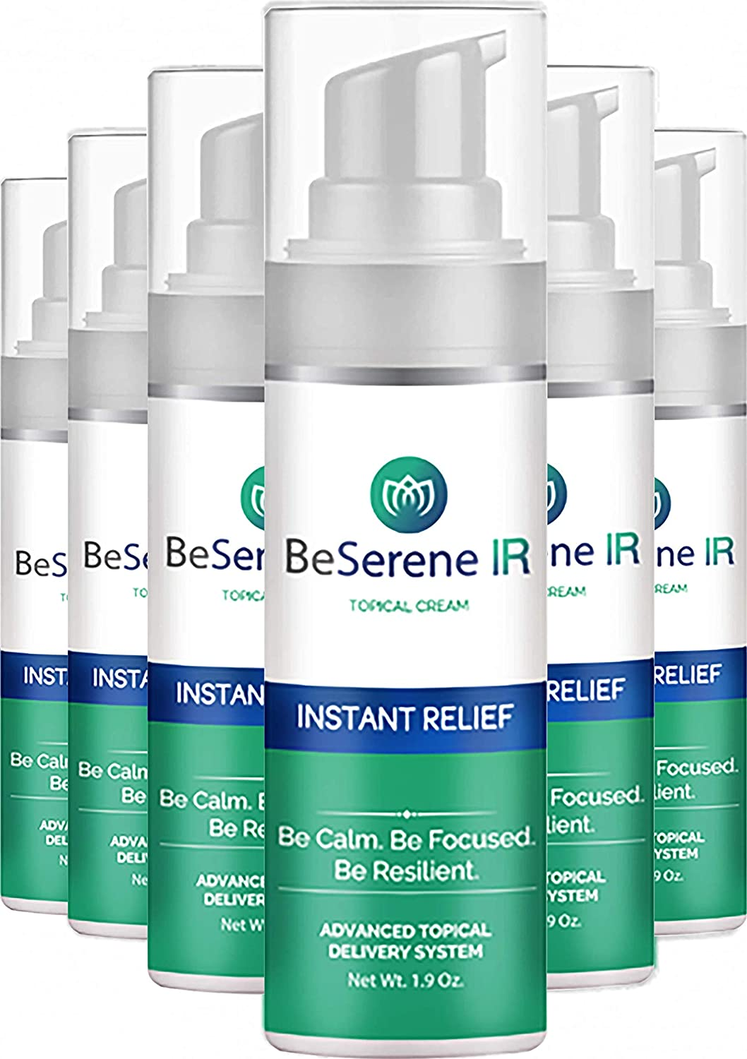 Be Serene: Instant Relief Cream Support - Slee half Stress NEW and
