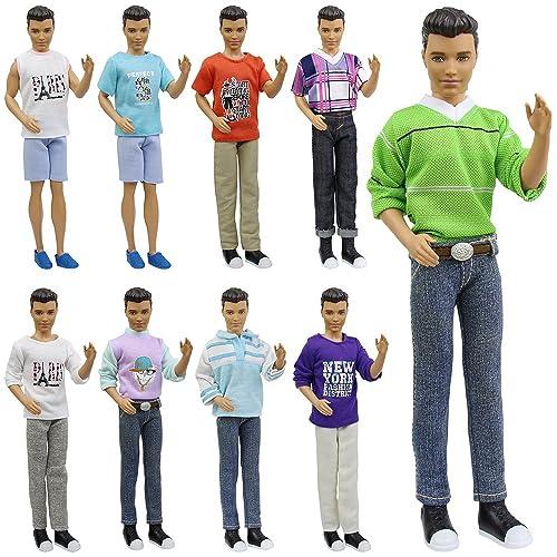 e98f9891e155 ZITA ELEMENT 5 Sets Fashion Casual Wear Clothes for 11.5 Inch Doll  Boyfriend 12 Inch Doll