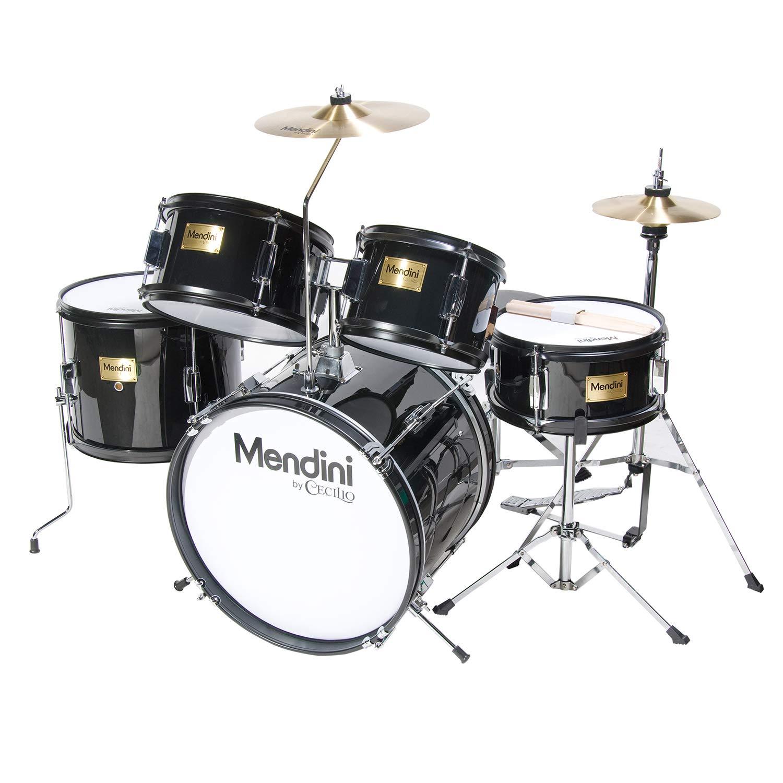 Mendini Drum Black inch MJDS 5 BK