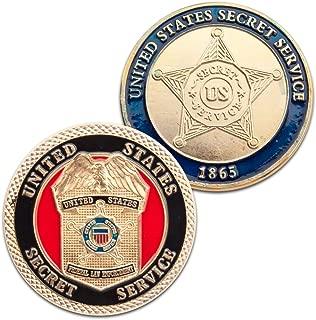 Art Crafter 1-Pack United States Secret Service Challenge Coin badge D026