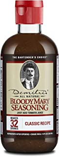 Demitri's Bloody Mary Seasoning, Classic Recipe, 8-Ounce Bottles (Pack of 3)