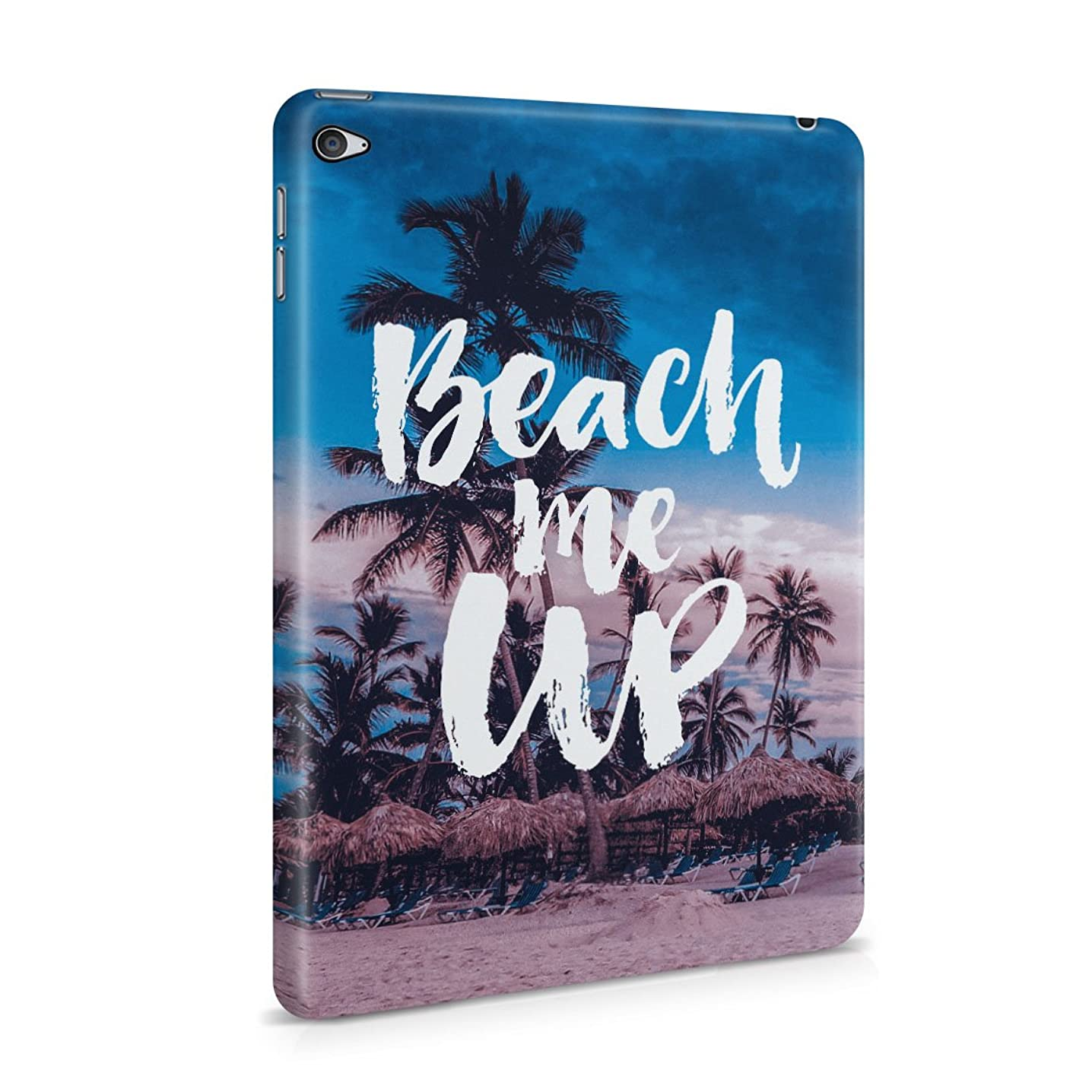 Beach Me Up Palms Paradise Plastic Tablet Snap On Back Cover Shell For iPad Mini 4