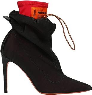 HERON PRESTON Luxury Fashion Womens HWIA007E198500142400 Black Ankle Boots | Fall Winter 19