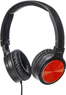 AmazonBasics - Lichte beugelhoofdtelefoon, rood
