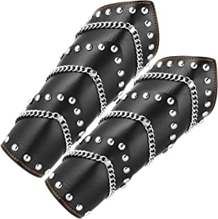 studded leather bracers