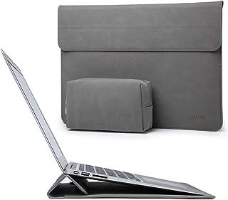 HYZUO 15-16 インチ ラップトップスリーブケース PCインナーバッグ スタンド機能付き 2019 MacBook Pro 16 A2141/15インチ Surface Laptop 3/15.6 インチ Dell XPS 15 / 1...