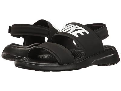 Nike Tanjun Sandal (Black/Black/White) Women