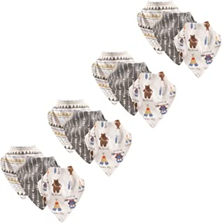 Luvable Friends Unisex-Baby Cotton Bandana Bibs