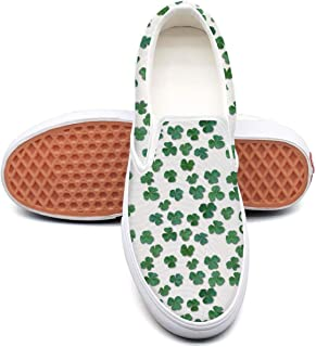 Emblema do vintage do st patricks day Plimsolls for Men cute Wear-Resistant Best Running Shoes
