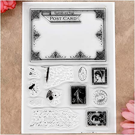 MaGuo Journey and Transportation Clear Stamps Tour Daily for Card Making Decoration and Scrapbooking