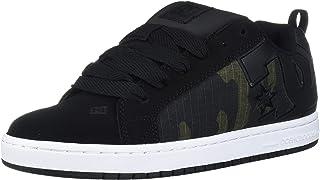 DC Court Graffik SE, Zapatos de Skate Hombre, Grigio Bianco Grigio, 38.5 EU