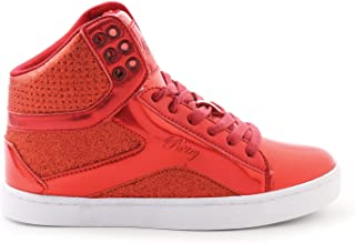 Pop Tart Glitter High-Top Sneaker & Dance Shoe for Women