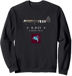 British 6th Airborne Horsa WW2 D-Day Sweatshirt