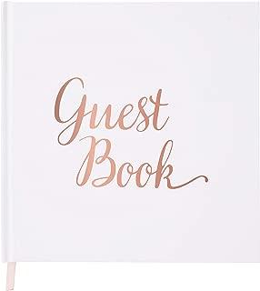 Best wedding guest book rose gold Reviews