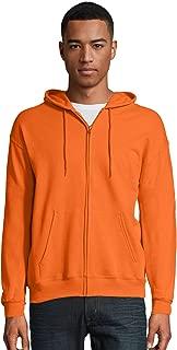 Hanes Mens ComfortBlend EcoSmart 50/50 Full-Zip Hood (P180)