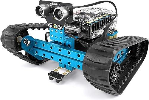 LSQR DIY Toy Smart Robot mBot programmierbares Roboter-Kit, STEM Educational Engineering Design & Build 3 in 1 programmierbaren Robotic System Kit im Alter von 10 +
