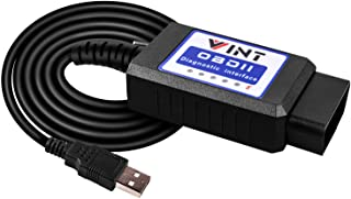 FORScan OBD2 Adapter, VINT-TT55502 ELMconfig ELM327 modified For all Windows compatible with Ford Cars F150 F250 and Light Pickup Truck Scan Tool, Code Reader MS-CAN HS-CAN Switch