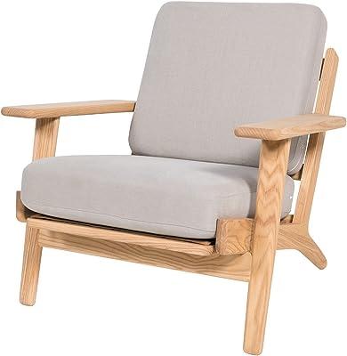 PoliVaz Replica Hans Wegner Plank Armchair, Large