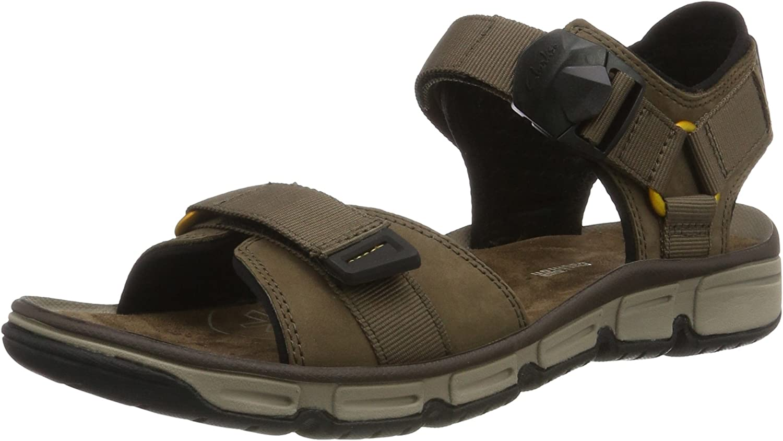 Clarks Men's Explore Part Open Toe Sandals