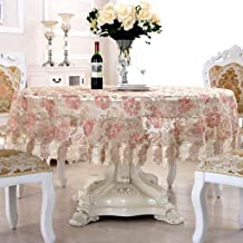 MU Sx-BBF obrus do domu, okrągły obrus, koronkowy obrus, obrus na stół, do domu, okrągły 200 cm | 1#
