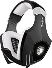USB Gaming Headset-SADES A60/OMG Computer Over Ear Stereo Heaphones with Microphone Noise..