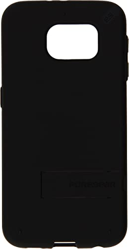 high quality PureGear sale Slim Shell with Kickstand 2021 for Samsung Galaxy S6 - Black outlet online sale