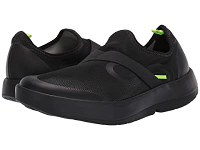 OOFOS Oomg Low Fibre (Black/Gray) Men