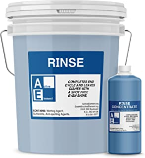 Commercial Dishwasher Rinse, Makes one 5-gallon pail, Commercial-Grade (Count