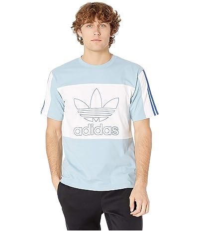 adidas Originals Spirit Outline Block Tee (Ash Grey) Men