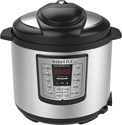 Instant Pot IP-LUX60 V3 Programmable Electric Pressure Cooker, 6Qt, 1000W