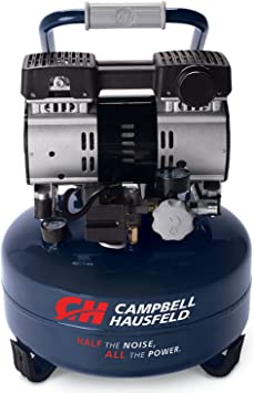 Campbell Hausfeld 6 Gallon Portable Quiet Air Compressor (DC060500): image