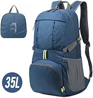 Men's and Women's Lightweight Folding Backpack Sports Bag Waterproof Bag Camping Climbing Trip