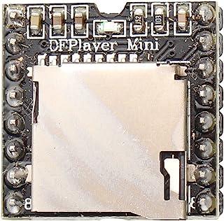 HALJIA DFPlayer - Mini reproductor de mp3 DAC de 24 bits, salida directamente, conectar a altavoces, soporta tarjeta TF, C...