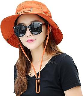 ca4b8d195cb Kafeimali Summer Sun Men Women Wide Brim UV Beach Caps Sports Fishing Hats