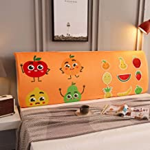 Bedside cover All-inclusive Fabric Stretchable Headboard Cover, Digital Printing Cartoon Bedroom Decorative Dust Cover, So...