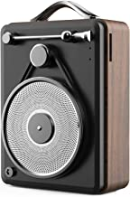 $25 » Sponsored Ad - Vintage Retro Phonograph Bluetooth Speaker with FM Radio with Old Fashioned Classic Wood Grain Style, Stron...