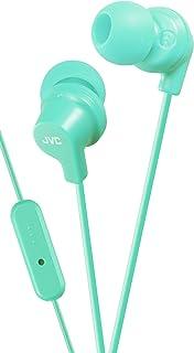 JVC HA-FR15-Z-E in-ear hoofdtelefoon met afstandsbediening/microfoon, turquoise (mint)