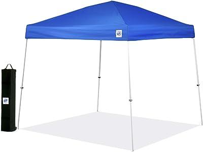 E-Z UP Vista Instant Shelter Canopy, 10 by 10', Blue