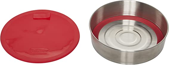 Instant Pot 5252084 Offical Round Cake Pan, 7-inch, Red