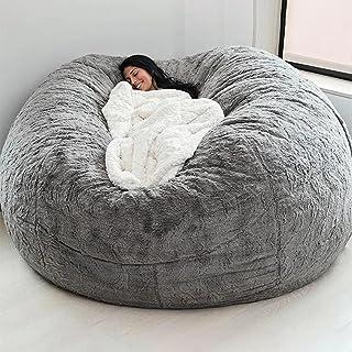 سرير اسفنج غطاء بين باج واقي كرسي مزدوج لغرفة النوم والشرفة كبيرة، أريكة مستديرة لينة غطاء زغبي بلا حشوات من كوزمو