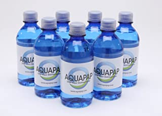Aquapap CPAP water 7 x 12 ounce bottles 1 week supply
