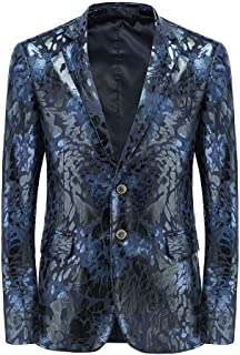 MOGU Mens Slim Fit Sports Coats and Blazers