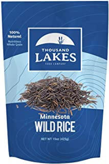 Thousand Lakes Minnesota Grown Wild Rice - 15 ounces | 100% Wild Rice | All Natural
