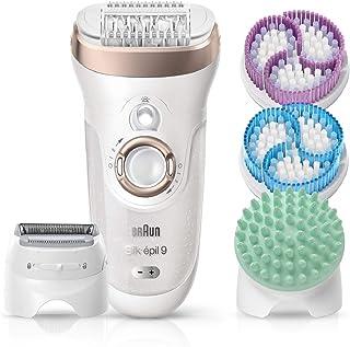 comprar comparacion Braun Silk-épil 9 SkinSpa 9-961V - Depiladora para mujer eléctrica, sistema de exfoliación y cuidado de la piel 4 en 1 + 1...