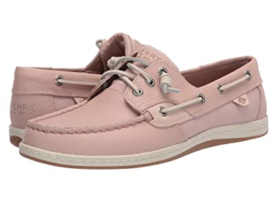 Sperry Songfish Saffiano Leather (Rose Dust) Women