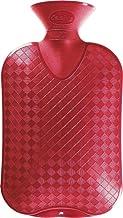 Fashy 2.0 Litre Cranberry Plain Hot Water Bottle