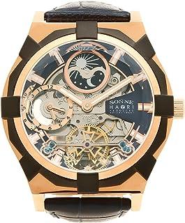 [ゾンネ] 腕時計 メンズ SONNE H019PG NV ネイビー ピンクゴールド [並行輸入品]