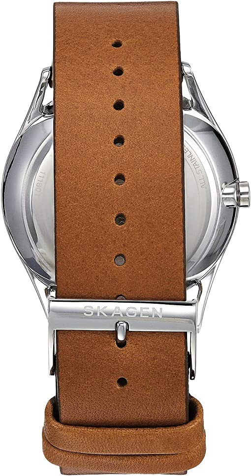 SKW6449 Silver Brown Leather