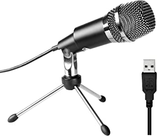 USB Microphone,Fifine Plug &Play Home Studio USB Condenser Microphone for Skype,..