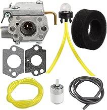 Butom 753-04333 Carburetor for Ryobi 790R 775R 767R 750R 725R 720R 704R 700R 410R 310BVR 280R 280 120R Trimmer Tiller Blower